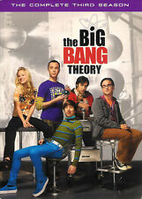 The Big Bang Theory The Complete Third Season DVD 4-Disc Box Set with Slipcover