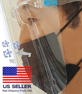 Lovely Safety Full Face Shield Guard Protector Reusable Best Shield Helmet USA