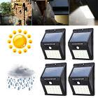 8-30 LED Solar Luz de Pared Impermeable Sensor de Movimiento Lámpara Exterior