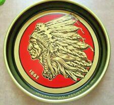 Iroquois Indian Head Beer Metal Tray International Breweries Buffalo NY- EUC