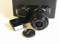 Samsung NX NX2020 20.3MP Digitalkamera - Schwarz (Kit mit ED 20-50mm Objektiv)