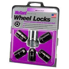 McGard Black Cone Seat Wheel Lock Set (1/2-20 Thread Size) - 5 Locks & 1 Key