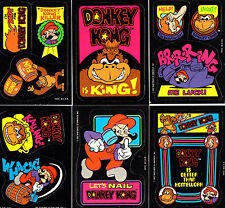 Donkey Kong Sticker - Nintendo 1982 - Super Mario / Game & Watch Arcade (DKR6)