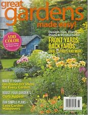 Great Gardens Made Easy! Garden Gate Fall 2018 DIY/Curb Appeal/Plans