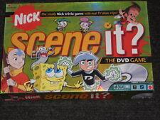 Nick Scene It? DVD Game -Nick- Mattel-Boys & Girls 8-Adult-Complete