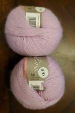 Sublime/ angora merino Lot of 2 yarn 0012 Lilac