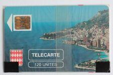 Télécarte à puce Monaco MF3 Rocher de Monaco 120U NSB 1989 (55346)