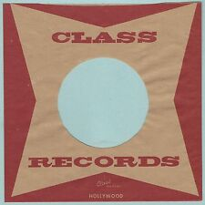 CLASS REPRODUCTION RECORD COMPANY SLEEVES - (pack of 10)