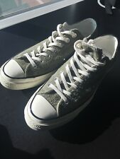 CONVERSE 70S CHUCK TAYLOR LOW MENS 9.5 SUEDE WOMENS 11.5 USA