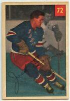 1954-55 Parkhurst Hockey #72 Jack Evans VG-EX Condition (2020-13)