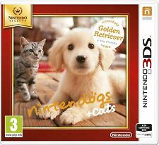 Nintendogs and Cats Golden Retriever and New Friends For 3DS (New & Sealed)
