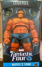Marvel Legends Fantastic Four Thing 6-Inch Figure Super Skrull BAF