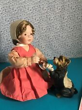 Porcelain doll Anna Amish Inspirations collection artist Joan Ibarolle Ashton
