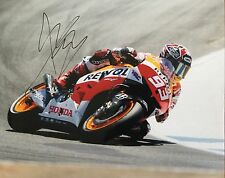 Marc Marquez signed Moto GP 10x8 photo Image J UACC Registered Dealer