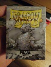 Dragon Shield 100 Protective Sleeves - Matte Pearl