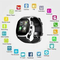 Bluetooth Smart Watch Phone Mate SIM FM Pedometer For Android Samsung IOS iPhone