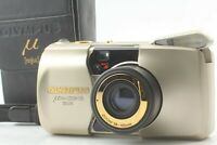 [Near Mint in case] Olympus μ mju Zoom 105 DELUXE 35mm Film camera From Japan