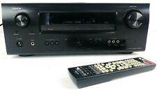 Denon AVR-1611 7.1 Channel A/V Home Theater Receiver Remote control bundle Black