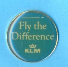 KLM Royal Dutch Airlines Badge