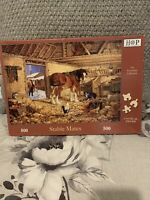 HOP Stable Mates 500 piece used jigsaw puzzle