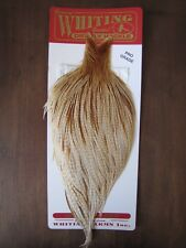 Fly Tying Whiting Pro Rooster Cape Barred Medium Ginger #I