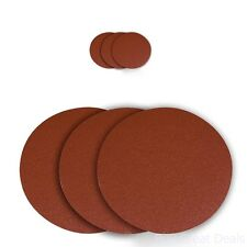 Sanding Disc 12-In 60 Grit Aluminum Oxide Self Stick 3-Pk C-Weight Paper Supply