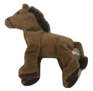 Saddles Horse Beanie Plush Toy Brown Russ Berrie