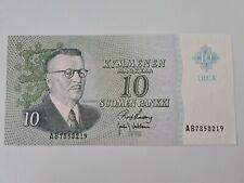 More details for 10 suomen pankki finland money 1963 note uncirculated
