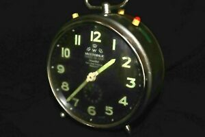 Vintage Alarm Clock Mechanical Rare good Condition. WEHRLE MADE IN GERMANY