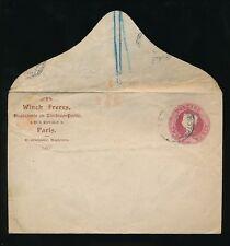 TIMBRO CONCESSIONARIO QV CARTOLERIA postale VERRICELLO FRATELLI FRANCIA + Colchester non sigillata