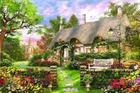 2020 New Farmhouse Educational 1000 Piece Jigsaw Puzzles Adults Kids Puzzle Toy