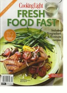 Magazine - Cooking Light: Fresh Food Fast - Includes 5 Ingredient & 15 Minute