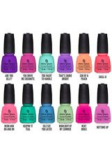 China Glaze Sunsational Nail lacquer Summer Collection Full 12 pcs (81318-83129)