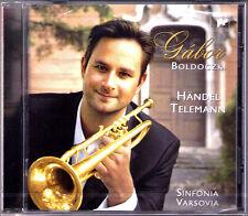 Gabor BOLDOCZKI: HANDEL TELEMANN Trumpet Concerto Arrival of Queen of Sheba CD