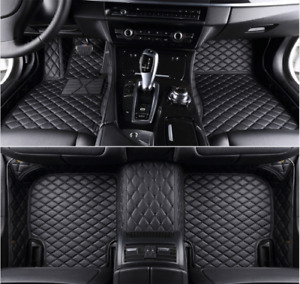 FIT 2004-2021 Mazda PU Leather All Weather Waterproof Non-slip Floor Mat