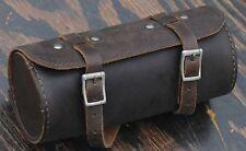 Brown Leather Bike Saddle TOOL BAG Q Fixies Vintage Schwinn Cruiser Bicycle Seat
