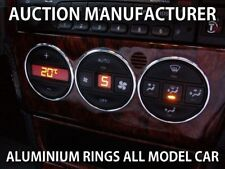 Opel Vectra B 1996-2002 Alluminio Anello Ventilazione Anelli Cromati 3 pezzi