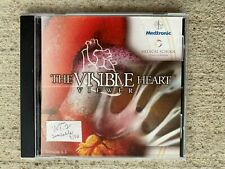 The Visible Heart Viewer CD ROM Educational Anatomy Medtronic Vers. 1.1 TESTED
