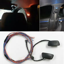 LED Car B Pillar Interior Decoration Light Blue+Orange for BMW 3 Series F30 F35