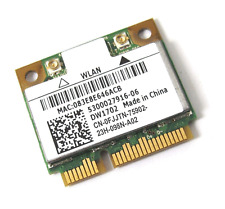 Wi-Fi WLAN WIRELESS CARD NETZWERKKARTE DELL MINI PCI-E DW1702 0FJJTN #D07