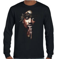 2Pac T-Shirt Shakur 2 Pac Mens Unisex Top Rap Hip Hop Biggie Smalls BIG