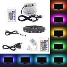 0.5m 1m 2m 5050 LED RGB Streifen Strip 5V USB Hintergrundbeleuchtung Controller