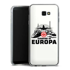Samsung Galaxy J4 Plus (2018) Silikon Hülle  Handyhüle Eintracht Europa white