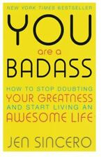 You Are A Badass by Jen Sincero NEW