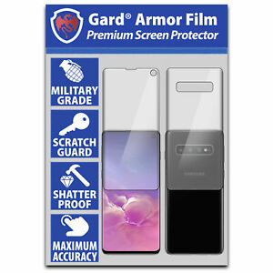 SAMSUNG Galaxy S10 Front & Back SCREEN PROTECTOR - 100% SM-G973