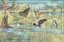 Namibia S/S Caprivi Fauna 1998 MNH-20 Euro