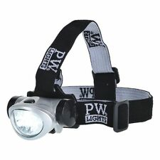 Portwest LED Helmet Light Flashlight Head Camping Fishing Torch Work PA50