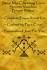 Stop Cheating Love Voodoo Prayer Ritual Kit Cheater Husband Wife Spouse Lover