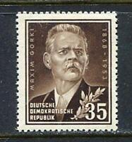 31213) DDR 1953 MNH** Nuovi** M. Gorki 1v. Scott# 147