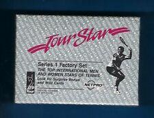 1991 NETPRO TOUR STAR FACTORY SEALED TENNIS SET SAMPRAS AGASSI RC